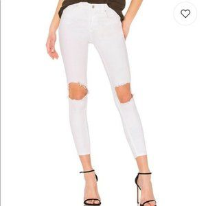 NWT-Free People High Rise Busted Skinny Jean SZ-28